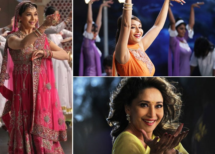 Madhuri mesmerises at 45