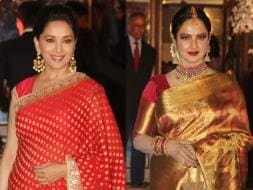 Photo : Madhuri Dixit, Rekha Took Us Back To The Nineties