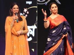 Photo : Madhuri, Sridevi Add Bollywood Tadka to Marathi Taraka