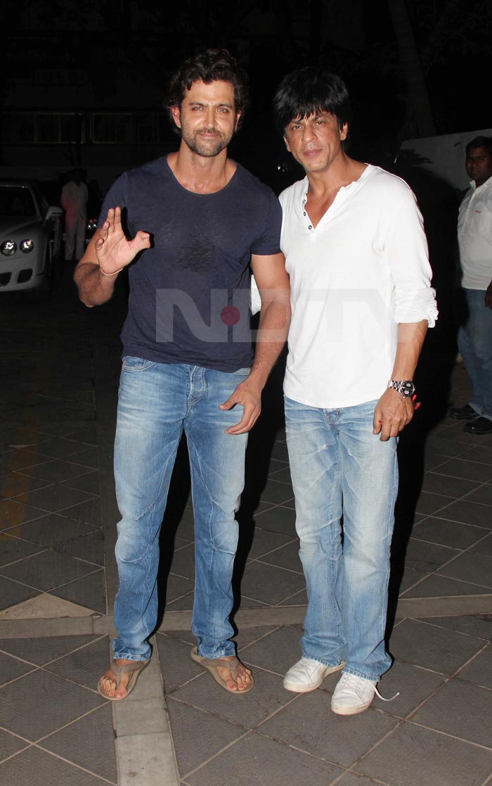 SRK, Hrithik at Maheep's birthday party