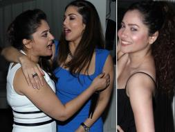 Photo : Sunny Leone, Ankita Lokhande at Mahhi Vij's Birthday Party