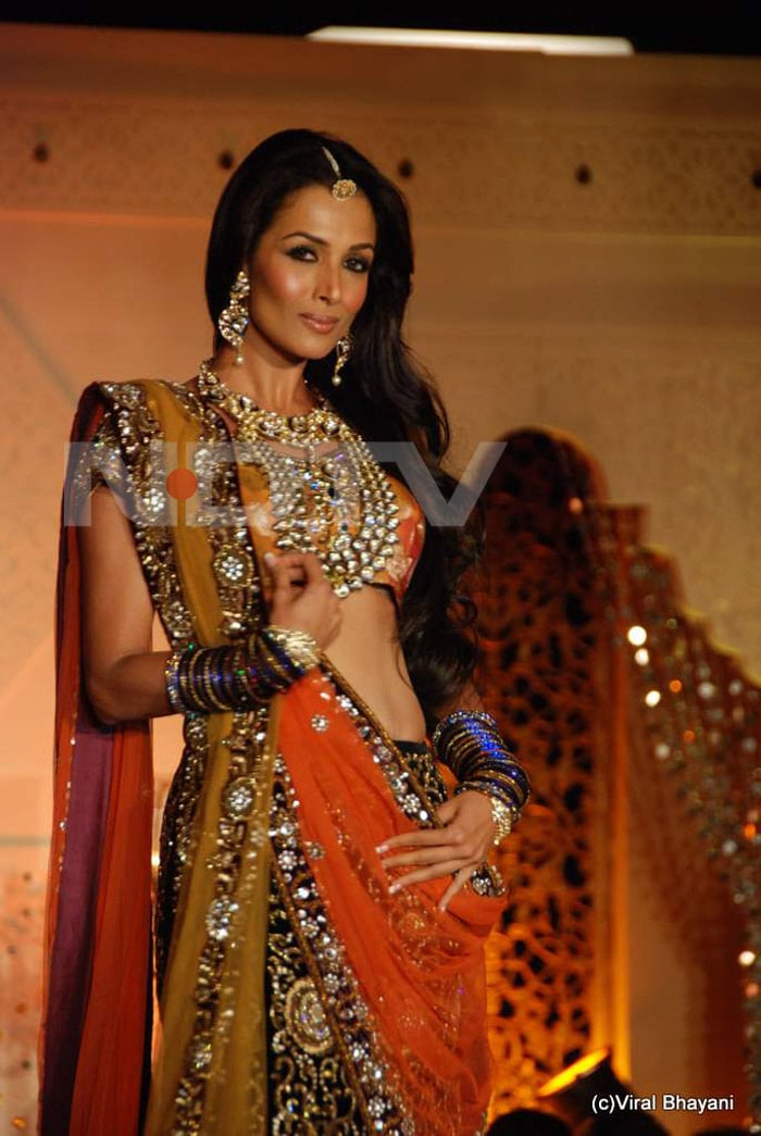 Malaika rules the ramp