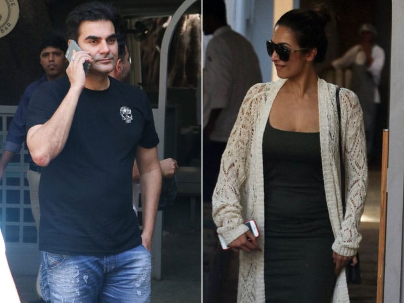 Malaika Arora And Arbaaz Khan Had A Family Day Out