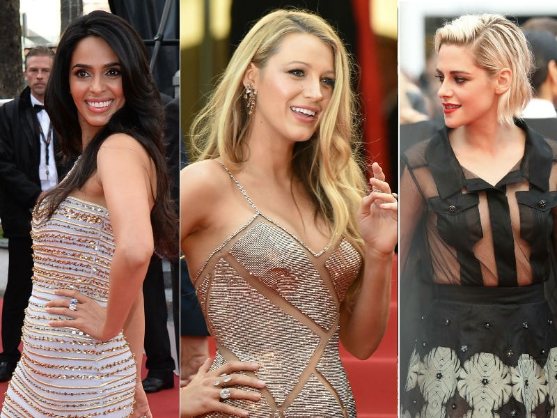 Cannes Opens on a High Fashion Note With Mallika, Blake, Kristen