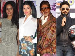 Photo : Of Politics and Films: Mallika Sherawat, Nimrat Kaur, Big B, Abhishek