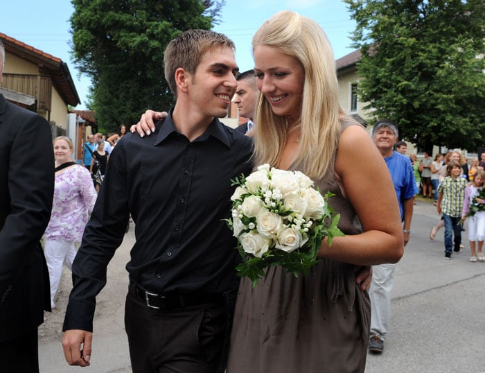 Philipp Lahm gets married