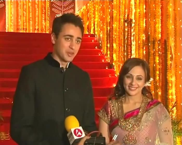 Imran, Avantika tie the knot