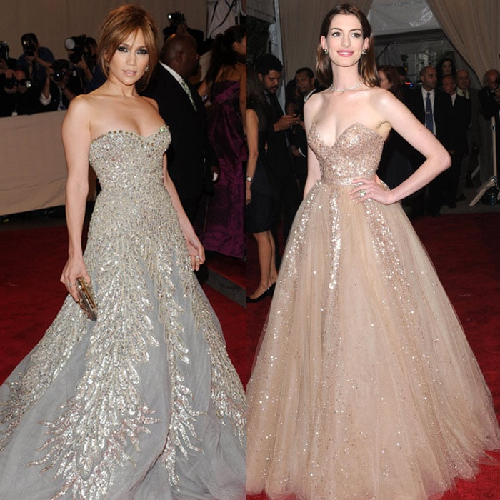 JLo, Hathaway all the way at MET Gala