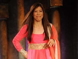 Photo : Mary Kom, from ring to ramp