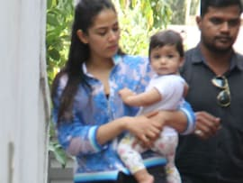 Baby Misha's Day Out With Mommy Mira Rajput