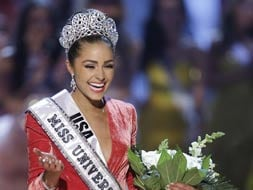 Photo : Meet the new Miss Universe 2012