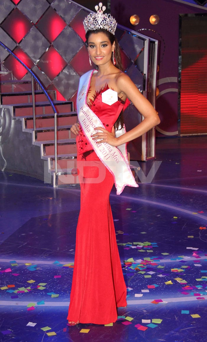 Meet the new Miss India 2011