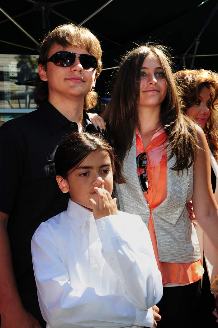 Michael Jackson's kids make a rare appearance