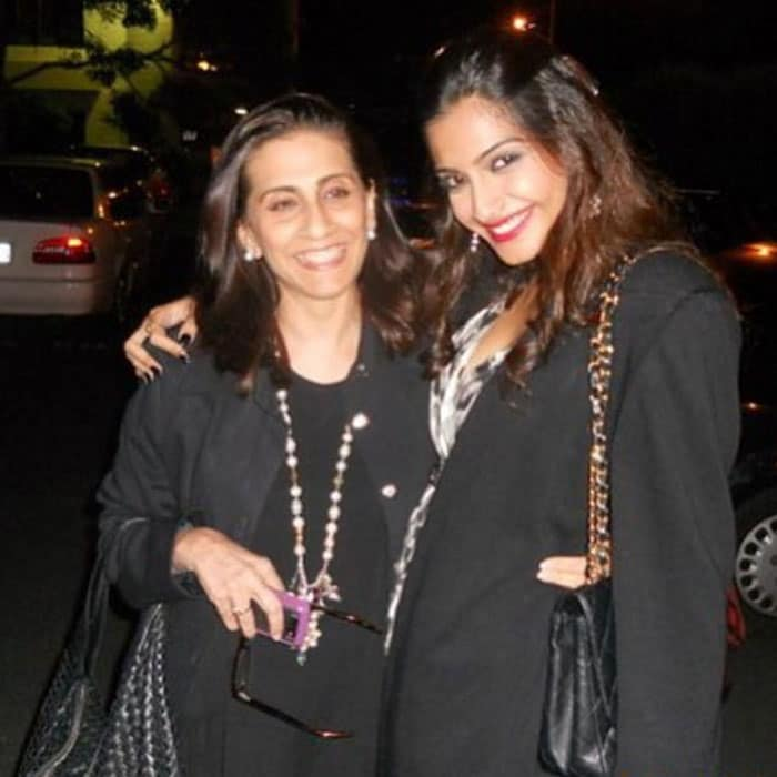Image result for sonam with her mom