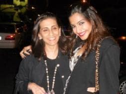Photo : Sonam is Sunita Kapoor's Doting Daughter
