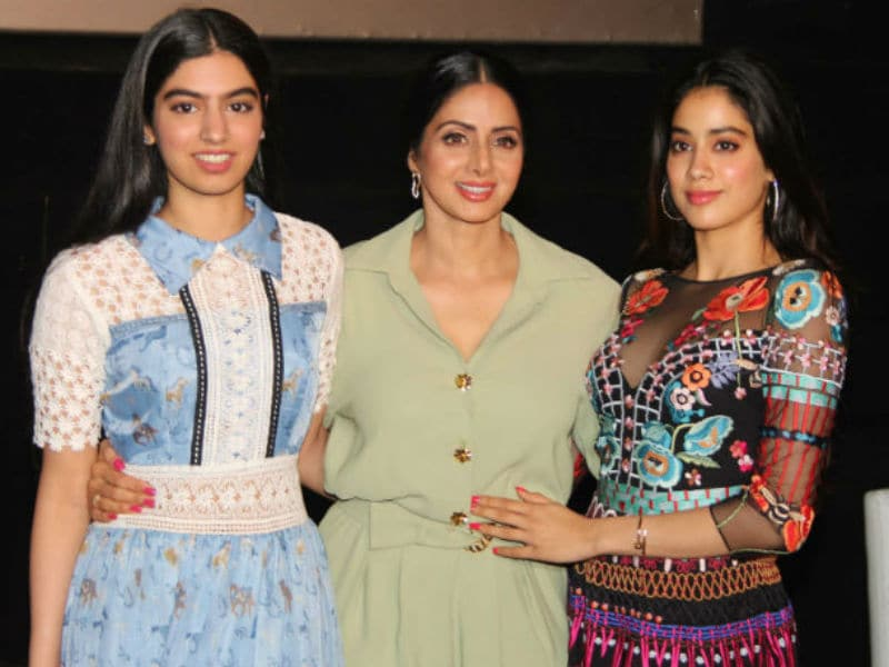 Jhanvi, Khushi Headline Outing With MOM Sridevi