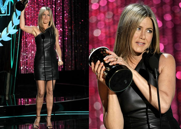 Jennifer Aniston crowned dirtbag at MTV Movie Awards 2012