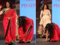 Photo : How the Mighty Have Fallen: Poonam Dhillon's Ramp Tumble