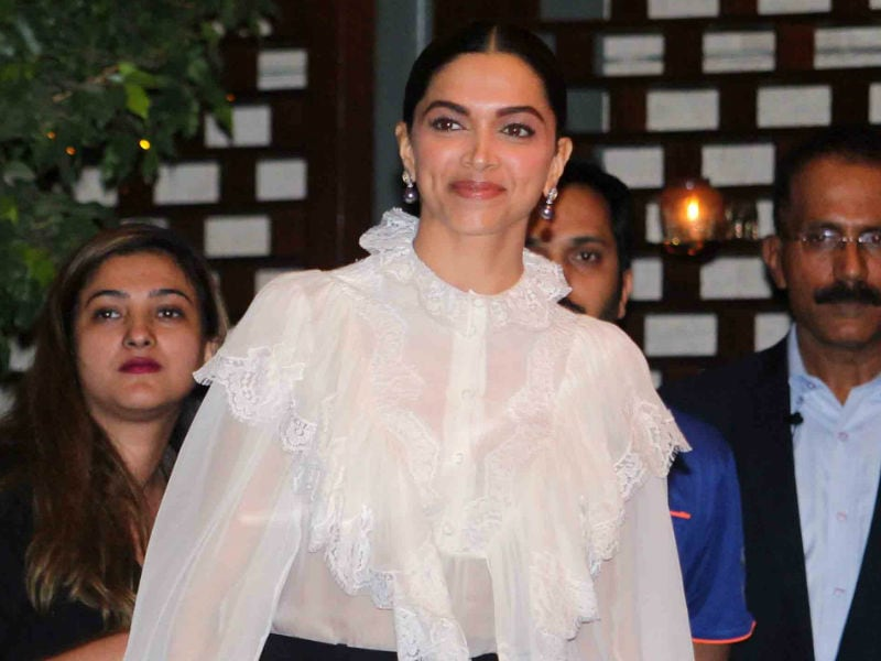 Deepika, Sachin's Starry Night With Mumbai Indians And Ambanis