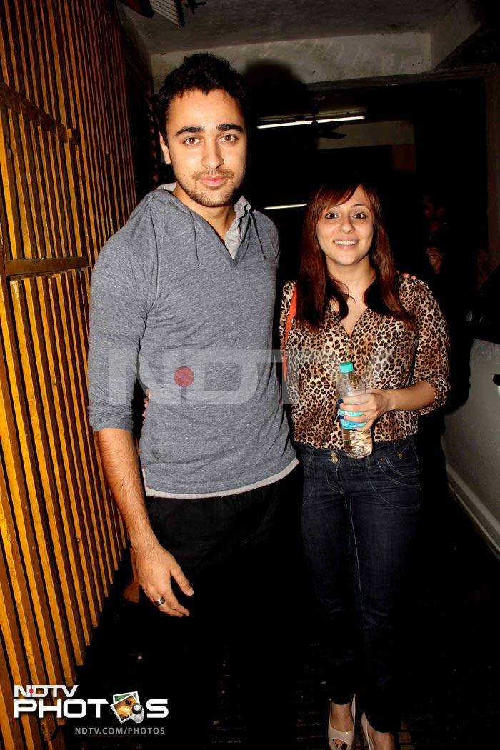 Imran, Emraan at Murder 2 Screening