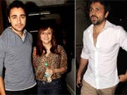 Photo : Imran, Emraan at Murder 2 Screening