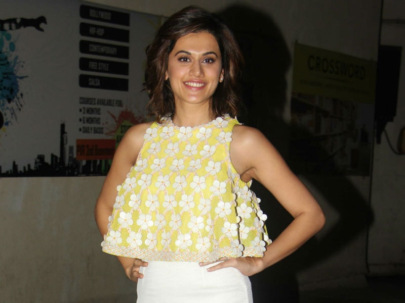 Taapsee Pannu Steals The Show At Naam Shabana Screening