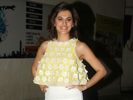 Taapsee Pannu Steals The Show At <i>Naam Shabana</i> Screening