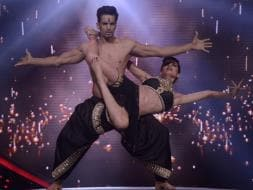 Photo : Karishma, Upen and the Nach Baliye Dance-a-Thon