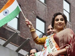 Photo : Vidya Balan, a desi girl in New York