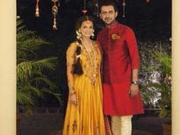 Photo : Picture-Perfect: Dia, Sahil at Bride-To-Be's Mehendi Ceremony