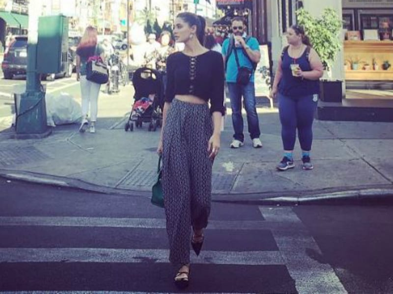 Nargis Fakhri Spotted in New York Looking Like This