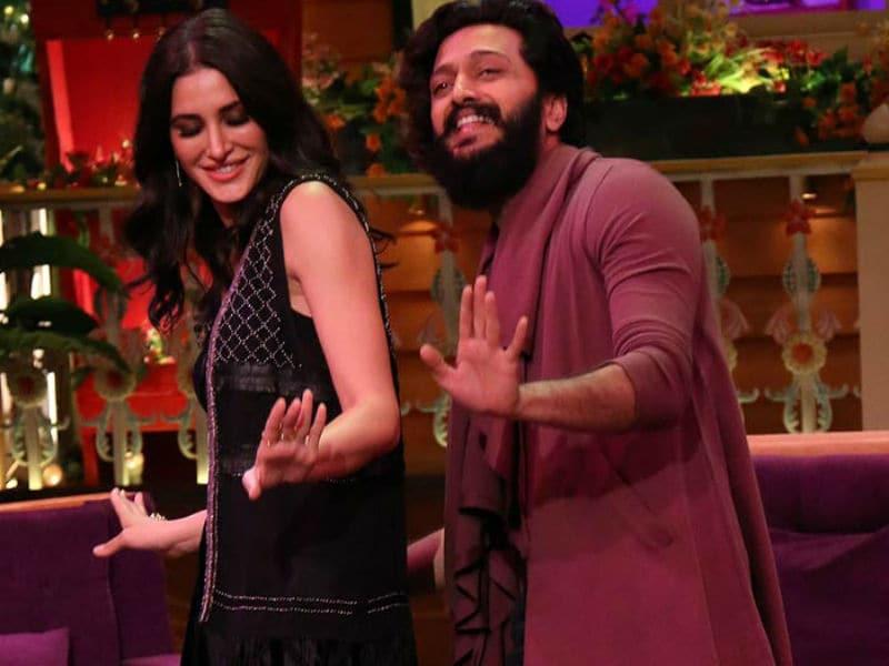 Nargis Fakhri, Riteish Deshmukh Shake A Leg At The Kapil Sharma Show