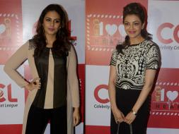 Photo : Huma Qureshi, Kajal Aggrawal's Charitable Outing