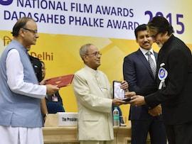 Amitabh Bachchan, Kangana Ranaut Collect National Award