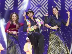 Photo : Happy New Year London: Madhuri Joins SRK, Deepika