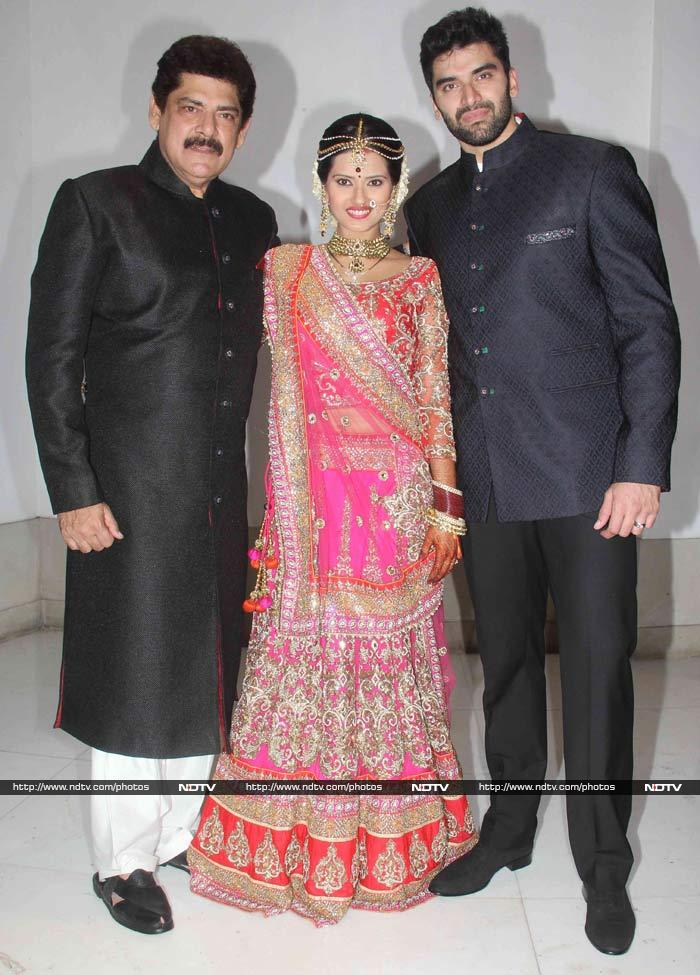 star studded wedding reception of nikitin dheer and