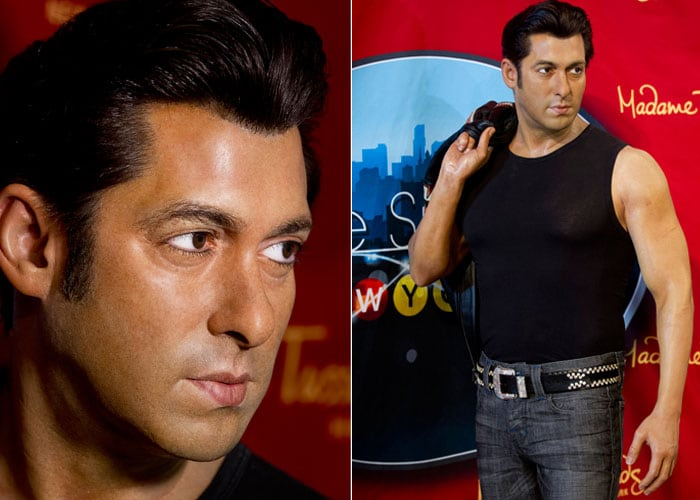 Salman is newest wax star at Madame Tussaud's, New York