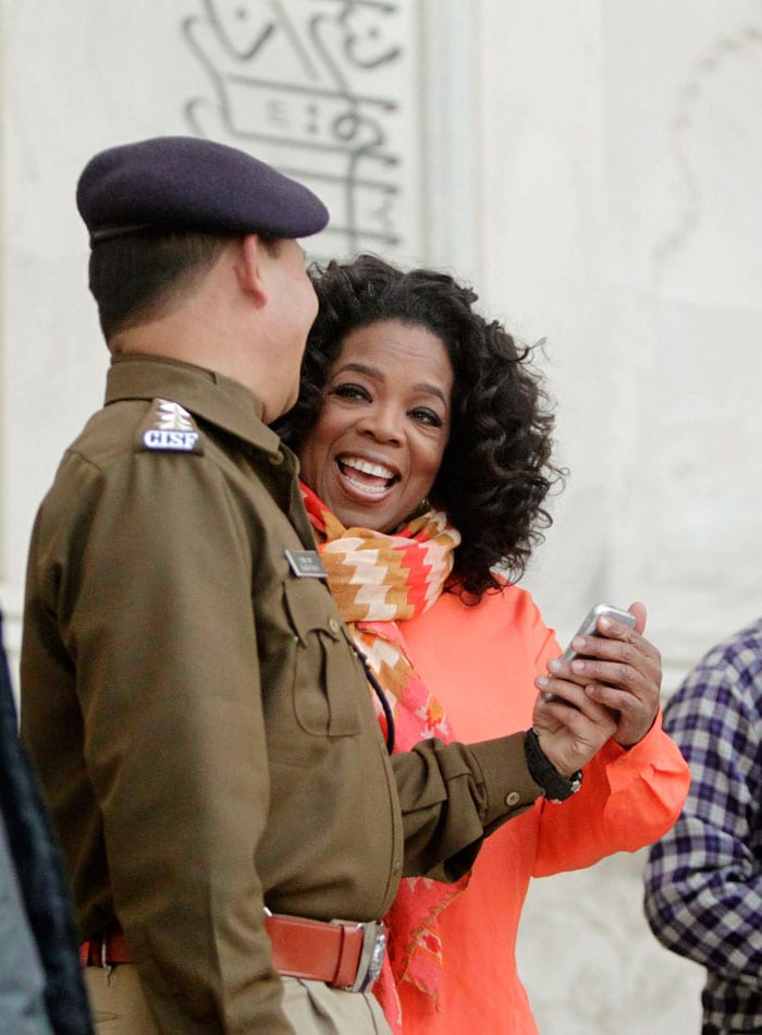 Oprah's India visit: Top 10 photos so far
