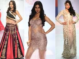 Photo : Ramp Scorchers: Lisa Haydon, Sonal Chauhan, Shriya Saran