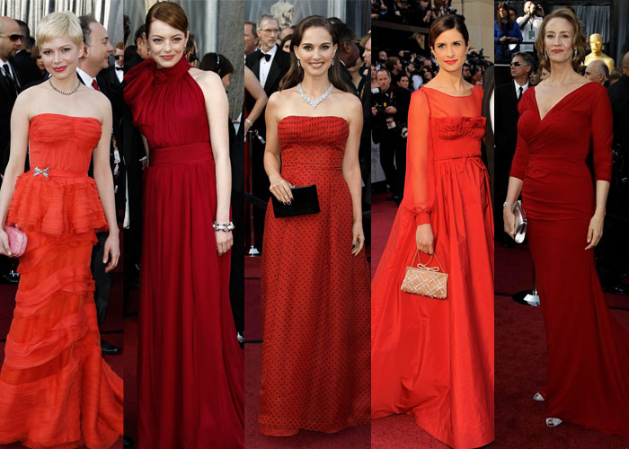 Oscar 2012: Fashion Trends
