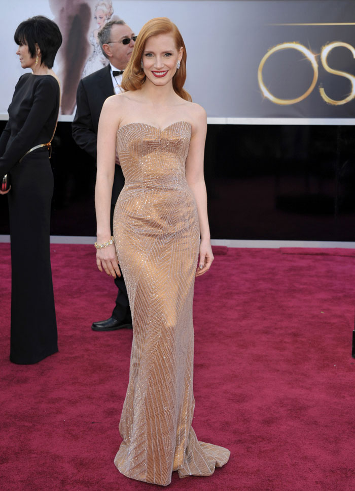 10 best dressed stars at Oscar 2013
