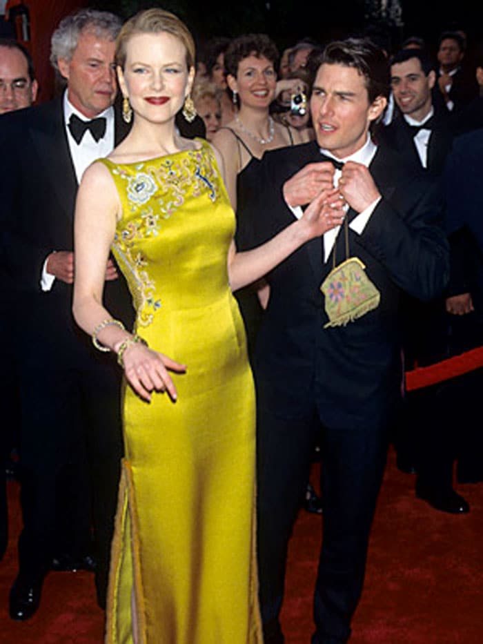 Nicole Kidman, John Galliano for Dior, 1996 – You don't have to try very