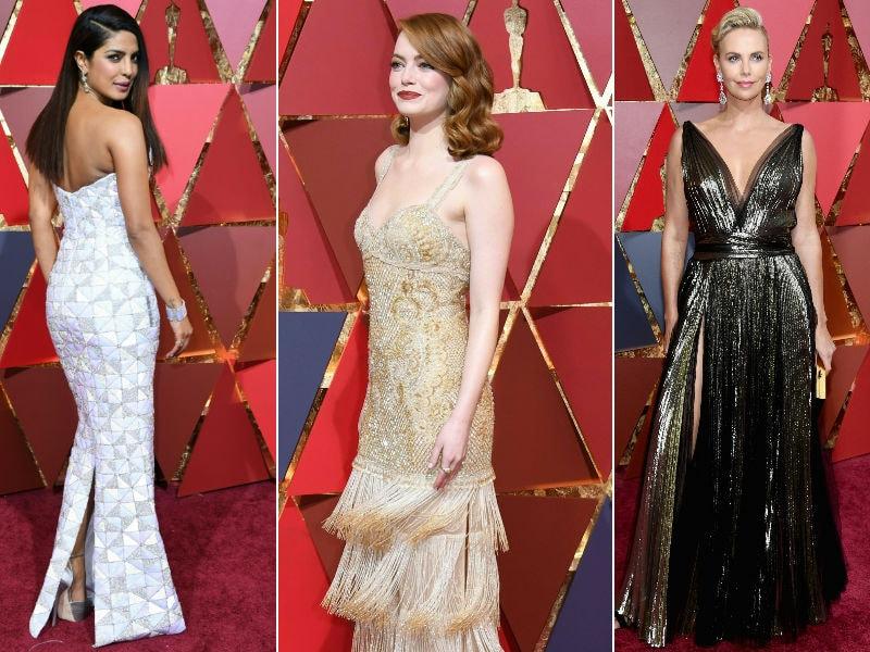 10 Best Dressed Celebs At The Oscars: Priyanka, Emma, Charlize