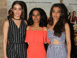 Radhika Apte Checks In To Watch Her Film <I>Parched</i>