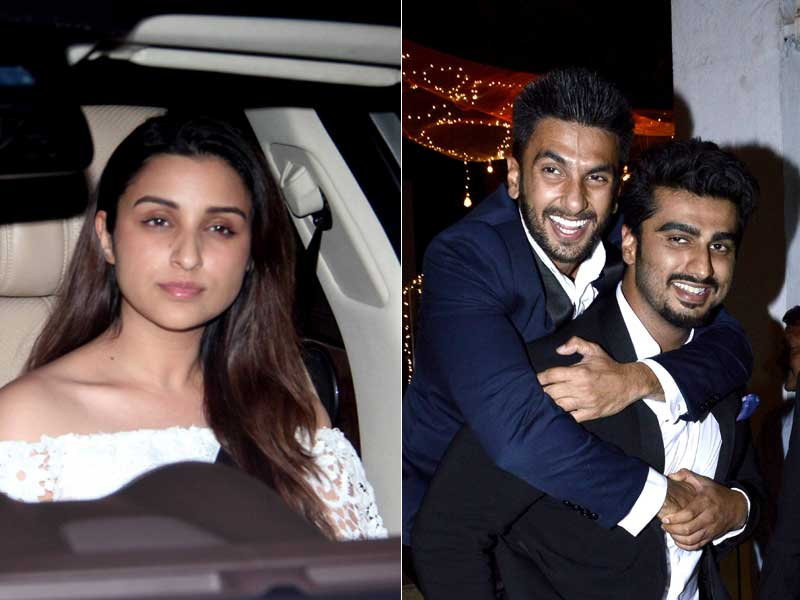 Party Time! Ishaqzaadi and the Gunday Let Their Hair Down