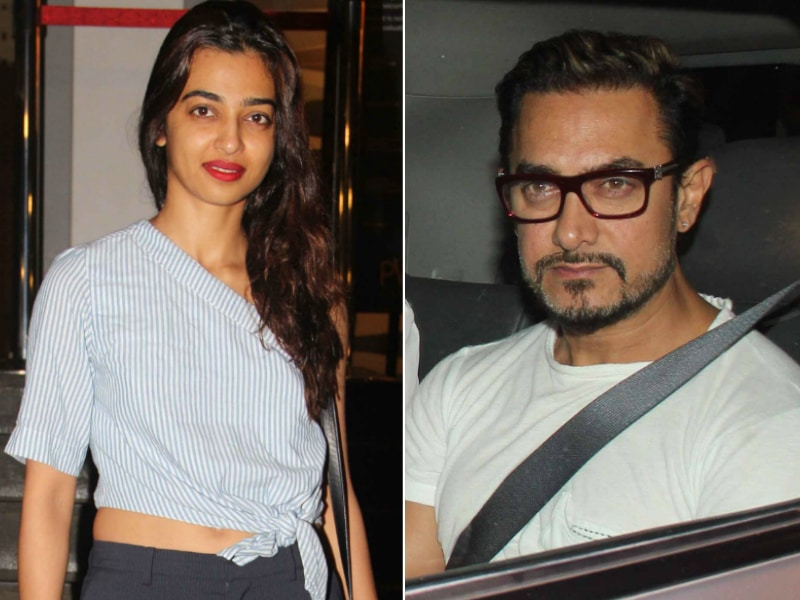 Radhika Watched Parched On Aamir Khan's Pink Saturday