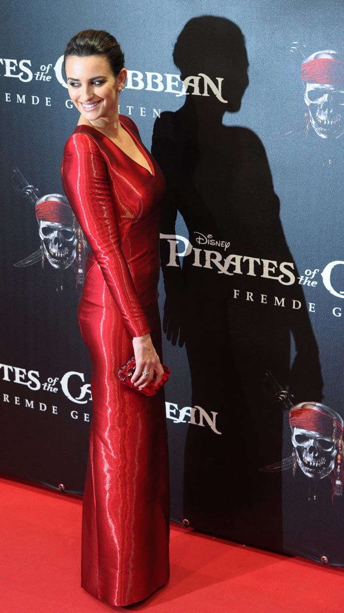 Red Hot Penelope at Pirates premiere