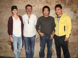 Photo : Sachin Tendulkar Joins Team PK