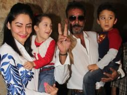 Photo : Out on Parole, Sanjay Dutt Watches PK With Family