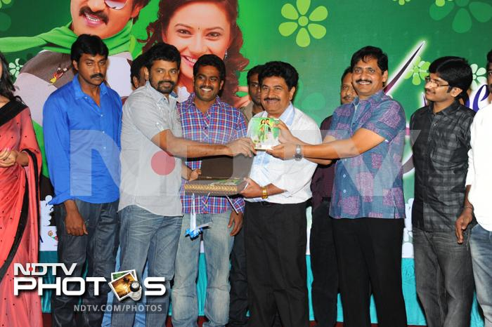 Music launch of Poola Rangadu